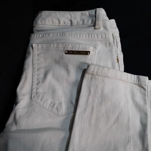 Michael Kors Jean's, white, skinny, size 6